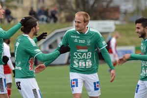 Brages Anton Lundin är glödhet. Mot Umeå satte han sitt femte mål för säsongen.