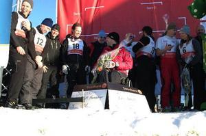 Det var en bra dag för Tomas Fogdö och hans Active Life Foundation som hjälper skadade idrottare till ett aktivt liv. Cirka 90 000 kronor drogs in i prispengar och insamlade medel.