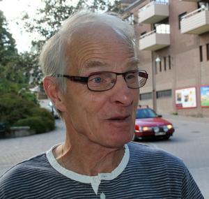 Roland Sandberg, Sollefteå:– Jag funderar på det, jag brukar rösta i kyrkovalet.