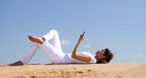 Använd mobilen till att få tips på resan.