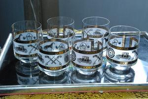 De sex glasen gjorde begreppet återanvändning i närmiljö till en personlig upplevelse