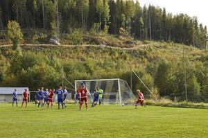 Nedansjö IK - Kovlands IF  matchen slutade 1-1.