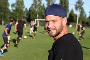 Johan Berglund, lagkapten i division 4-laget Ljusdals IF.