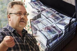 Bosse Hedin avskedades från sitt uppdrag som ombudsman på Seko när det uppdagades att 14 miljoner hade försvunnit ur klubbkassan från Seko Väg och Ban Gävle-Dala.