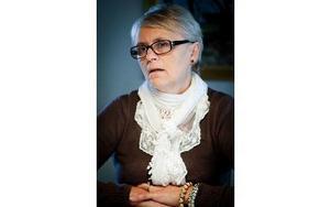 Moderaten Lotta Gunnarsson är fortsatt starkt kritisk till satsningen på Prästabadet. Foto: Jonatan Svedgård/DT