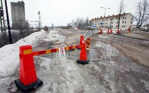 Antalet parkeringsplatser ökas från 25 till 62 när parkeringen på den norra delen av stationsområdet byggs ut.FOTO: MIKAEL ERIKSSON