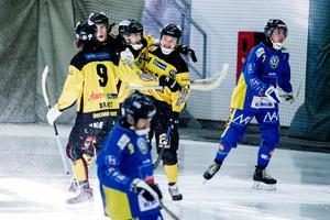 Jubel efter Tero Määttäläs 1–3-mål. Men halvminuten senare hade Nässjö ökat på till 1–4. Foto: Veronika Ljung Nielsen