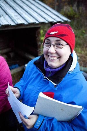 Ledaren Gertrud Ivarsson konstaterar stolt att intresset för scouterna är gigantiskt den här hösten.