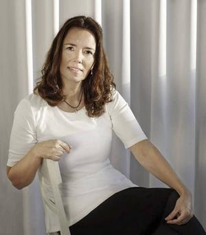 Populära gästrikeförfattaren Camilla Lagerqvist.
