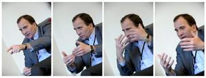 S-ledaren Stefan Löfven vill träffa en långsiktig, blocköverskridande överenskommelse om energipolitiken.