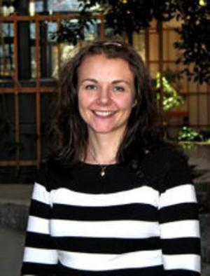Susanne Strand, nybliven doktor i hälsovetenskap.