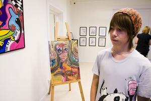 Kasper Sving berättar om sin konst.