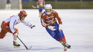 Västanfors och Johan Andersson får vänta till tisdag på nästa match.