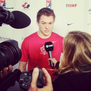 Han som ledde Kanada till guldet – Curtis Lazar!