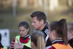 Gunnar Mattson, tränare i VIF FK är mestadels nöjd med det han sett under våren. Truppen är intakt men det finns ändå mycket att jobba på.