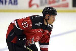 Mathias Eriksson i Hudik-tröjan.