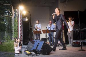 Andreas Weise underhöll publiken med både nytt och gamalt.