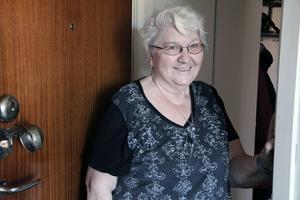 Bagaren är ett bra ställe att bo på. Det är inte bråkigt här, säger Laila Eriksson.