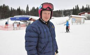 Victor Öhling Norberg trivs med att få ladda inför OS i Härjedalen.
