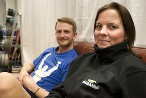 Drivande. Patrick Rapp övertalade Jill Erlandsson att våga satsa på 8-veckorsprogrammet.