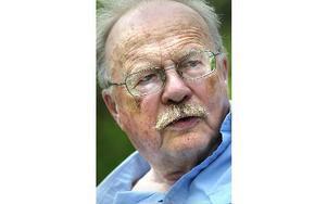 Skriftställaren, författaren och samhällsdebattören Jan Myrdal. Foto: Dan Hansson / SvD / TT