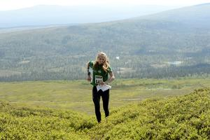 Johanna Börjesson Eriksson, Storvik  sliter upp mot bergspriset, och van sin klass i överlägsen stil.
