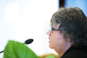 Kommunalrådet Elisabet Lassen manar till respekt för processen och andras åsikter.