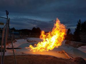 Igrene planerar att borra efter mer gas i Morafältet under vintern
