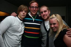Pluto. Marcus , Jan, Christian och Marien