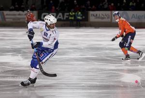 Joakim Hedqvist ser fram emot annandagsderbyt mot Gripen på måndag.