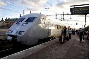 X2000 gick inte som tåget den dagen.