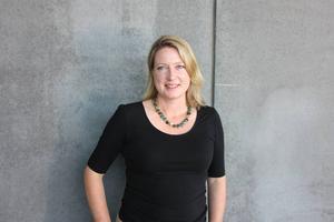 Rebecka Nolmark, generaldirektör för Riksutställningar.
