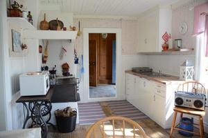 Det tidigare köket.