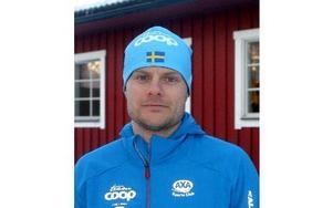 Jimmie Johnsson ser med spänning fram emot Vasaloppet. foto. rolf johansson