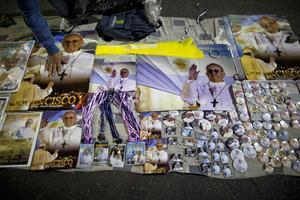 Påven har blivit en del av turismindustrin i Argentina.