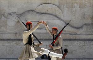 Grekiska högvakten (evzones).