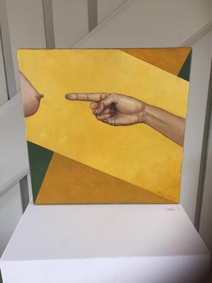 Favoriten i Pär Kocks omfattande utställning på Ahlbergshallen, enligt LT:s konstskribent Linda Petersson.