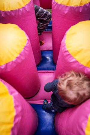 Hopp-landet var mycket populärt bland barnen.