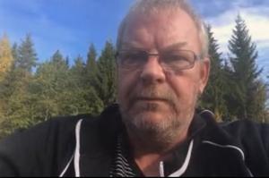 Hans-Åke Zackrisson, regionalt skyddsombud på transportarbetareförbundet i Sundsvall.