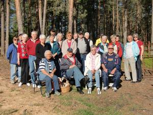 28 medlemmar var närvarande vid gökottan.Bild: Jan Albinsson