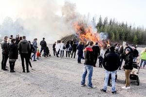Det första Valborgsfirande på länge på Marma IP var välbesökt och ger klubben blodad tand för fler arrangemang.