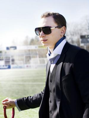 """Marcus Hansson är självklar i rollen som """"Gudfadern""""."""