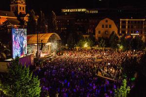 Kulturfestivalen We are Stockholm i Kungsträdgården kommer att kameraövervakas i år. Arkivbild.