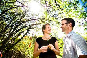 Familjen Hoelstad är hemma på gården i Lännäs igen efter resan till Nya Zeeland.BILD: LENNART LUNDKVIST