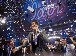 Favoriten höll, Kevin Borg tog hem segern i Idol 2008 över tvåan Alice Svensson.