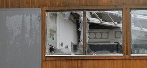 Bomben på nattklubben gjorde krossade fönster.