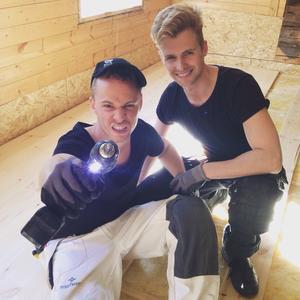 Michael Westlund, från Valbo och hans sambo Daniel Österhof deltar i SVT-programmet