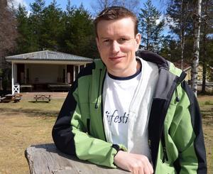 Johan Eriksson är nöjd över årets program på visfestivalen i Malungsfors.