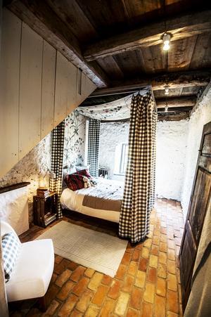 Sovrummet i det så kallade Ernsthuset.