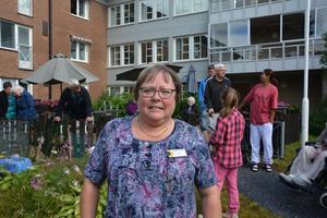 Erika Forsberg arbetar som aktivitetsledare på Träffpunkten.